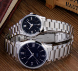 贅沢なブランドの特に腕時計のステンレス鋼の人の腕時計OEM