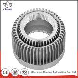 Peça fazendo à máquina do CNC da fabricação de metal para máquinas de soldadura do argônio