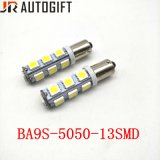 Car-Styling 12V/24V 13SMD 5050 Ba9s calentamiento Panel bombillas LED