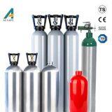 A fábrica 0,5L para 30L Seamless Alum garrafa de gás comprimido