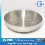 Titanio del giro de metal del CNC del Wok de la bandeja del equipo de la cocina