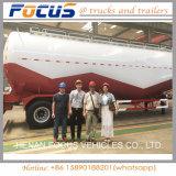 45cbm販売のためのバルクセメントの輸送の空気の乾燥したバルクトレーラー