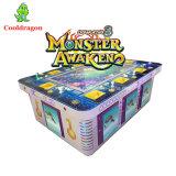 O rei 3 monstro do oceano de 8 jogadores desperta mais a máquina de jogo de jogo da arcada da tabela do caçador dos peixes do prendedor