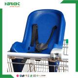 Sede di plastica della capsula del bambino del carrello di acquisto del supermercato