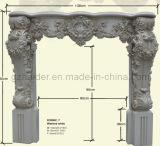 De vuurvaste Decoratieve Kroonlijsten van het Polyurethaan van de Afdekplaat van de Open haard van Pu