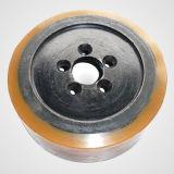 Roulette polyuréthane noyau métallique