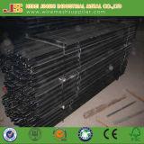 Het zwarte Piket van de Ster van het Type van Bitumen Y Postdie voor Landbouwbedrijf wordt gebruikt