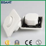 Cor branca plástica redutor prendido para luzes do diodo emissor de luz
