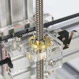 SDのカードUSBのコネクターが付いている金属フレーム3Dの印刷プリンター