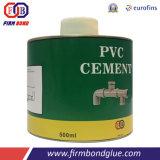adhésif de PVC 250ml pour la pipe d'approvisionnement en eau et la pipe d'eaux d'égout