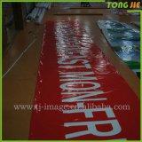 La publicidad al aire libre crea la bandera barata del vinilo para requisitos particulares del PVC