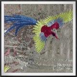 Вышивки Sequins сетки вышивки Sequins вышивка Sequins земной животная
