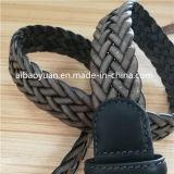 Tannés des lanières de cuir tressé avec boucle en alliage de la courroie