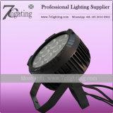 Наружное освещение 12*18Вт Светодиодные PAR RGBWA УФ освещение