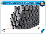 T de redução de aço carbono