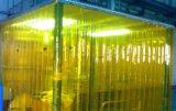 Belüftung-Vorhang mit gewelltem und glattem Side/PVC Cortina De La Tira,
