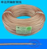 Aduana cable coaxial de la transmisión de la señal de 50 ohmios