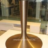 특별한 청동색 양극 처리 금속 닦는 분대를 가진 바 테이블을%s 밀어남 발 기초를 형성하는 주문을 받아서 만들어진 회전시키는 알루미늄 압박
