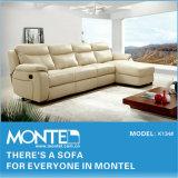 Canto branco sofá de Reclinação Designs de Ajuste