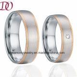 IP-Роуз Gold включение диапазона свадьбы украшения кольцо ювелирные изделия ручной работы
