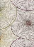 Bordados de poliéster como padrão Jacquard Tecido de Cortina da janela