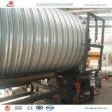 Heißes BAD gewelltes galvanisiertes Rohr für Datenbahn-Abzugskanal zu U.A.E.