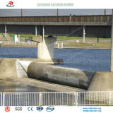 Wearproof Barragem inflável de borracha de água na indústria eléctrica