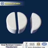 Résistant à l'usure de l'alumine Chemshun Half-Cylinder Fournisseur en céramique en provenance de Chine