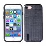 Anti-Rayer 2 dans 1 cas de téléphone cellulaire pour le cas de l'iPhone 7