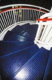 Un piso de la escalera