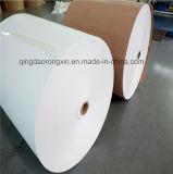 Un solo lado de grado alimenticio en rollos de papel recubierto de PE para vaso de papel, papel Bowl