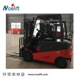 Furnace Wheel 2.5t Gasoline Forklift Truck with Side Shifter and Container Mast for Loading Container
