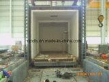 Fornace di trattamento termico del focolare del carrello ferroviario