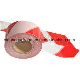 [ب] بلاستيكيّة إنذار شريط مع حمراء ولون أبيض