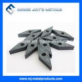 De Fabriek van de Hoge Prestaties van China Gemaakt het Draaien van het Carbide tot van het Wolfram de Tussenvoegsels Gecementeerde Tussenvoegsels van het Carbide