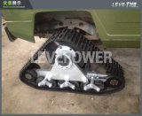 Conjunto de borracha triangular da esteira rolante para o veículo off-Road médio com ISO9001
