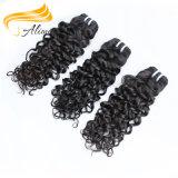 Type de vente chaude de beaux cheveux bouclés philippins brute vierge