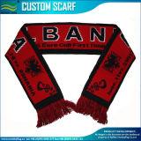 高品質のフットボールのファンの編まれたスポーツのスカーフ(M-NF19F06009)