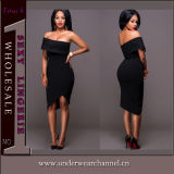European Last Sexy Fashion Lady Party Slim Bandage Evening Dress