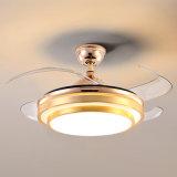 Home Appliance Ventilateur de plafond décoratif à l'intérieur moderne voyant DEL