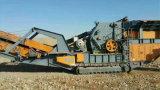 Frantoio mobile per estrazione dell'oro/ferrovia ad alta velocità (YT-250)