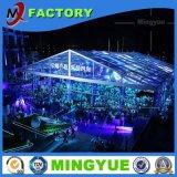 Fabricante de aluminio para la venta el tejido industrial de PVC transparente de Gran Jardín de la boda al aire libre tienda