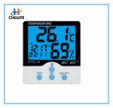 携帯用LCDのクロックデジタルC/F温度計の湿度計屋内HTC-6