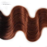 Cheveux humains brésiliens de tissage en gros de Vierge non transformée de cheveu de Remy