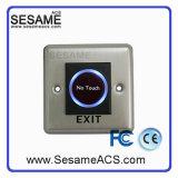 Liga de alumínio sem botão de porta COM com luz de fundo azul (SB5KR)