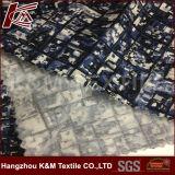 L'élastique lourd a personnalisé le tissu estampé de satin de coton en soie pour le vêtement