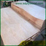 Folheado de madeira natural de Bintangor com 0.28-0.5mm