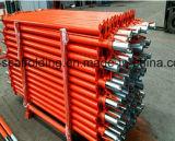 型枠の調節可能な鋼鉄足場支注の支柱