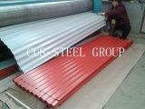 중국 공장 Colorsteel 루핑 단면도 디자인 또는 색깔 강철 기와