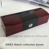 Personalizzare la cassa impaccante del regalo della visualizzazione della vigilanza del legno